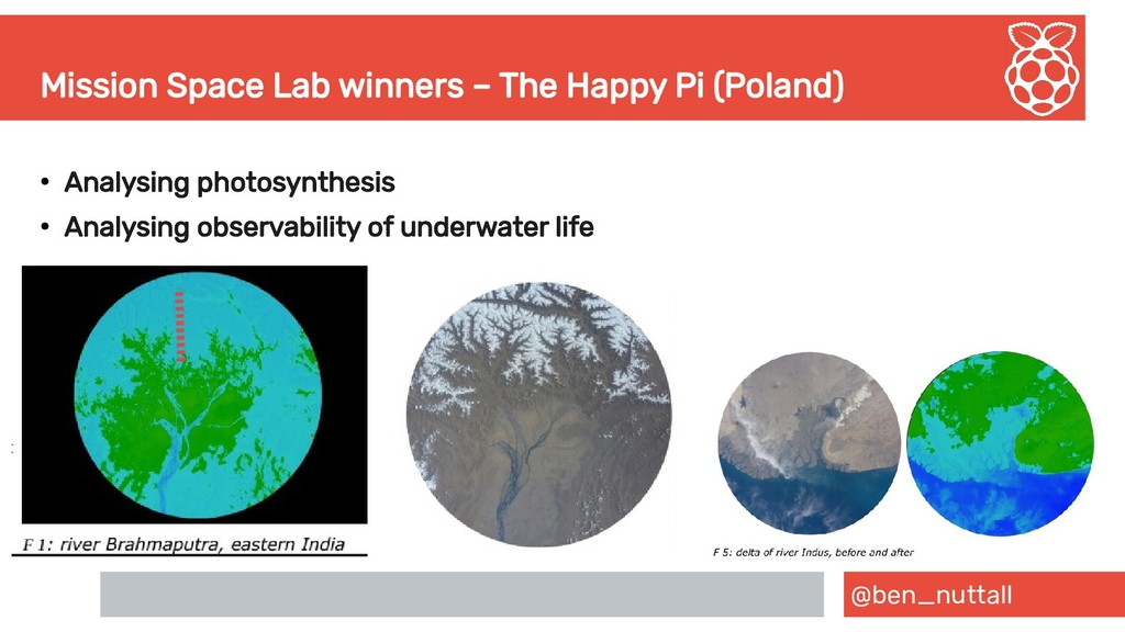 @ben_nuttall Mission Space Lab winners – The Ha...