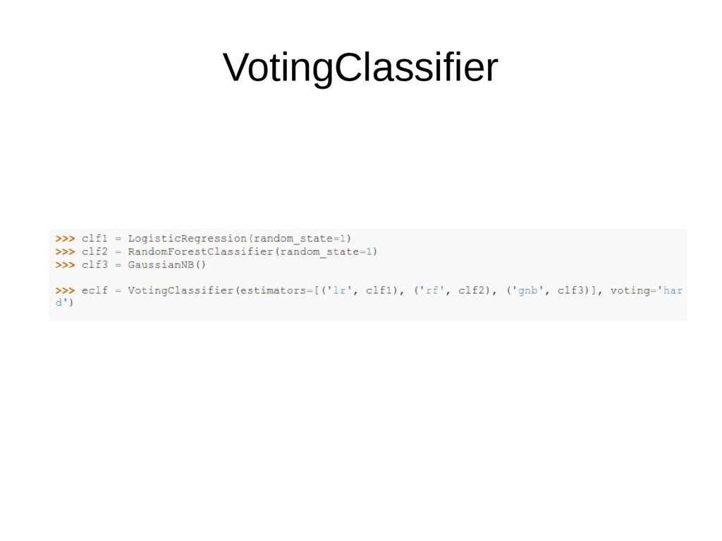 VotingClassifier