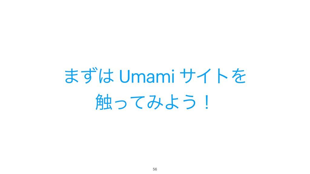 ·ͣ Umami αΠτΛ ৮ͬͯΈΑ͏ʂ 56