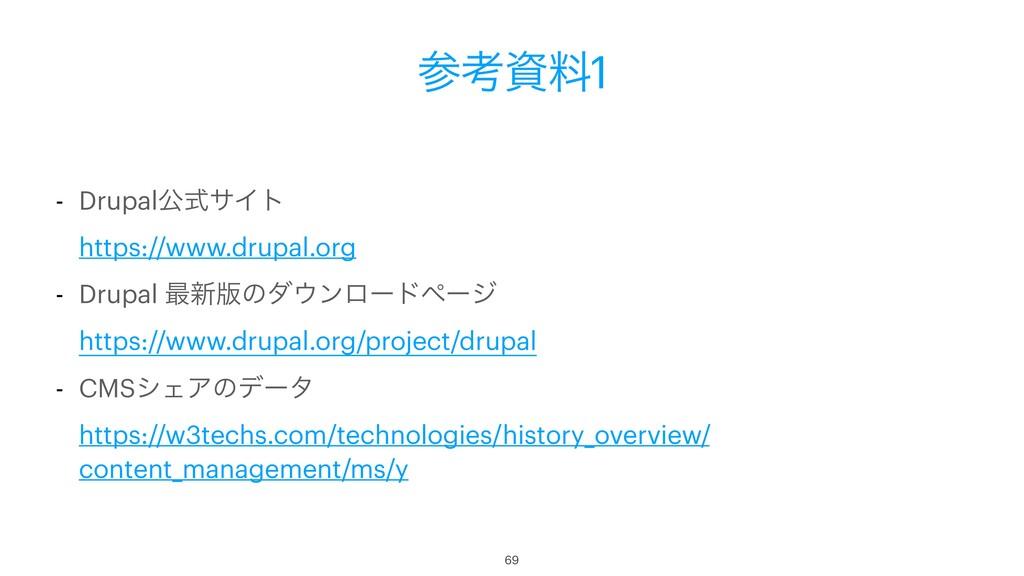ߟྉ1 - DrupalެࣜαΠτ https://www.drupal.org - Dr...
