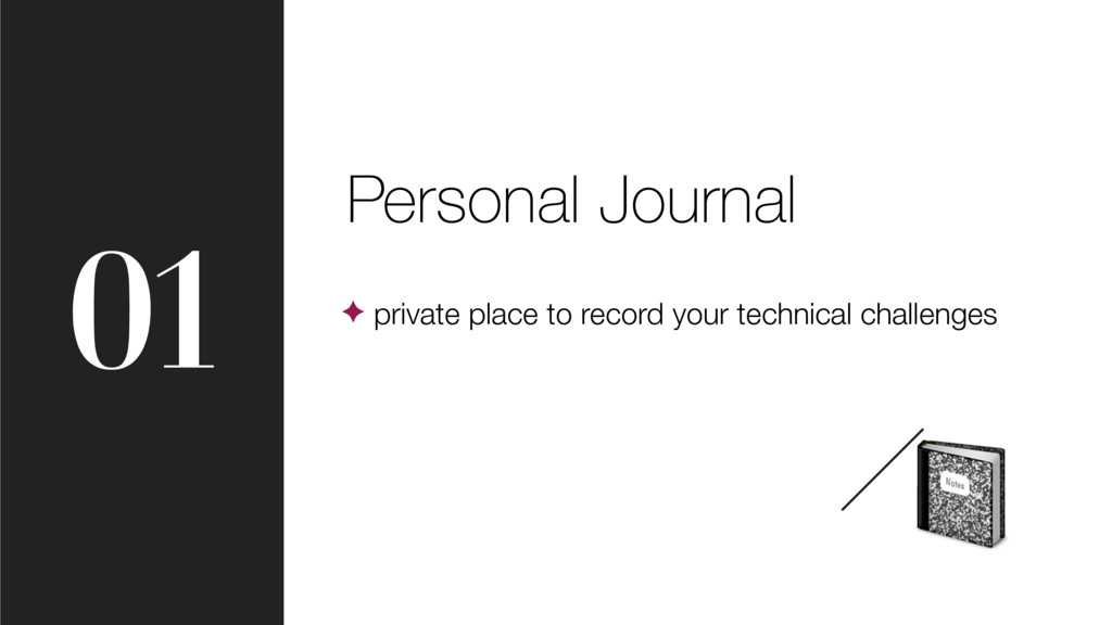01 Personal Journal ✦ private place to record y...