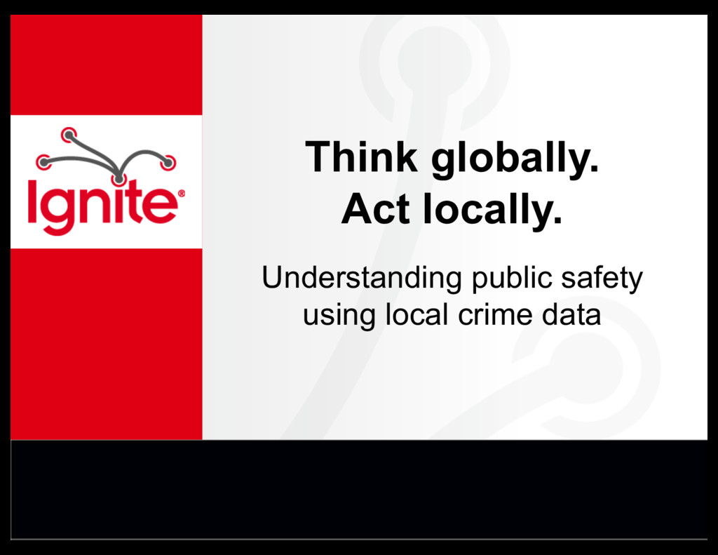 Think globally. Act locally. Understanding publ...