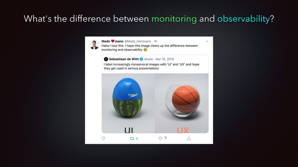 What's the difference between monitoring and ob...