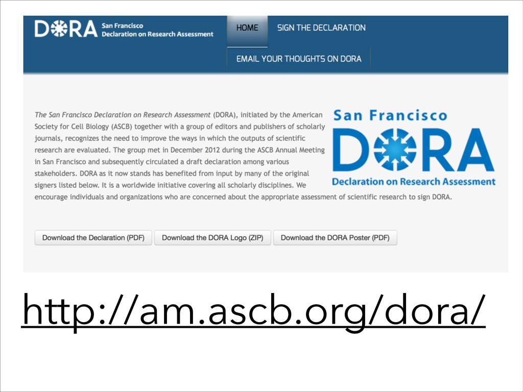 http://am.ascb.org/dora/