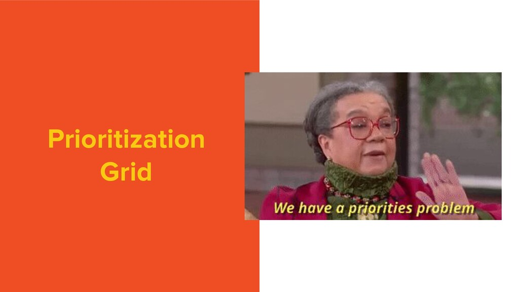 Prioritization Grid