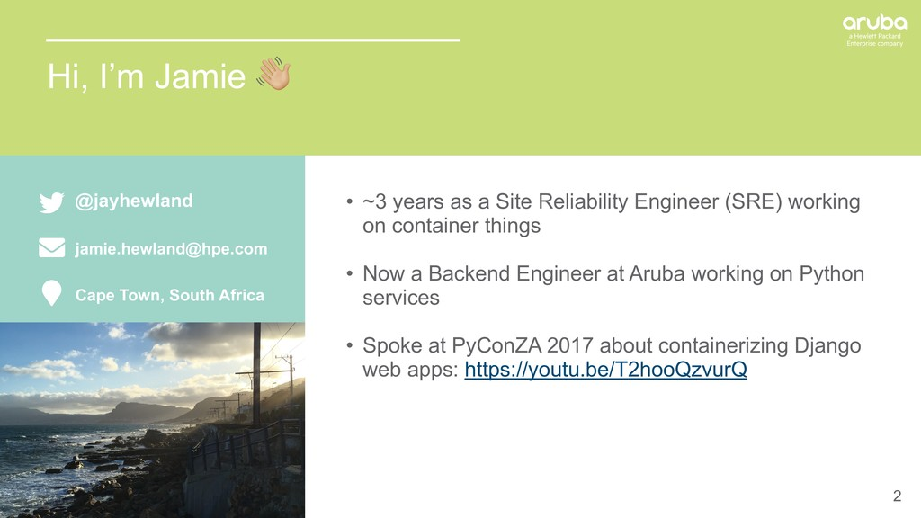 2 • ~3 years as a Site Reliability Engineer (SR...