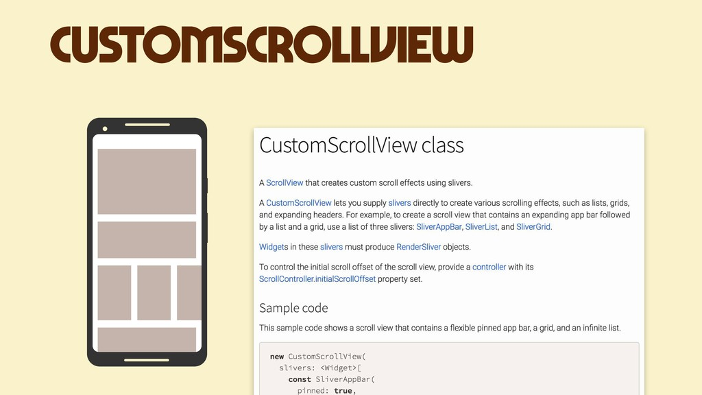 CustomScrollView