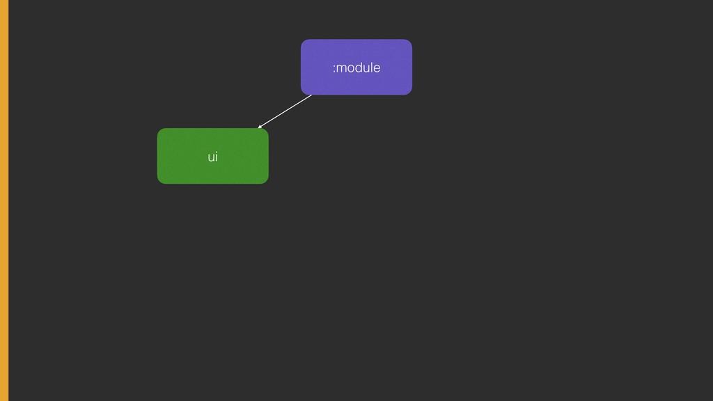 :module ui