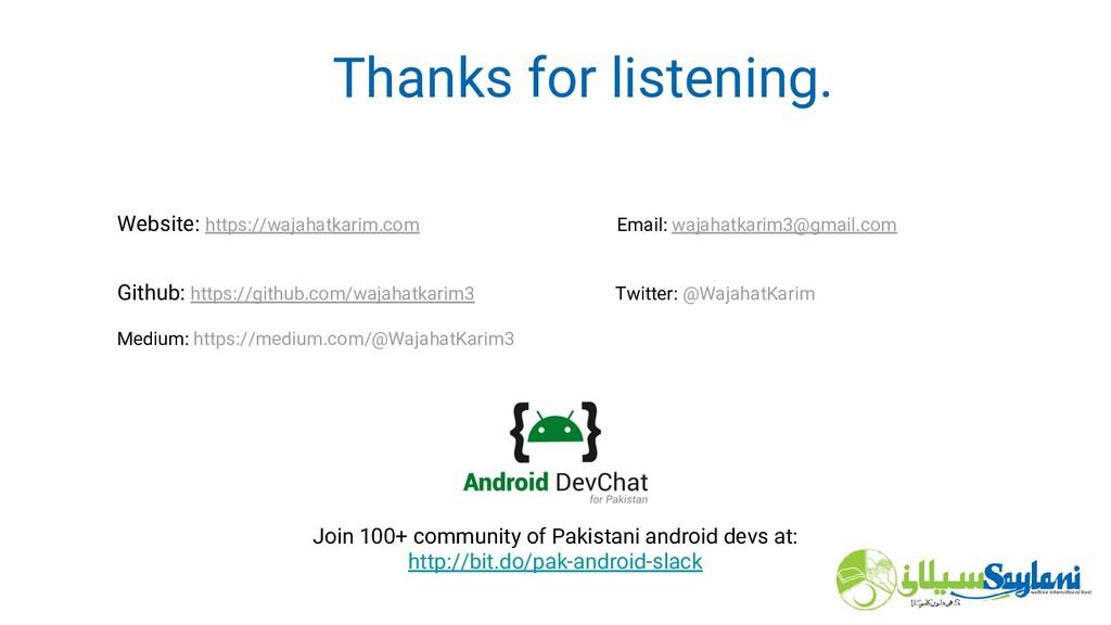 Thanks for listening. Website: https://wajahatk...