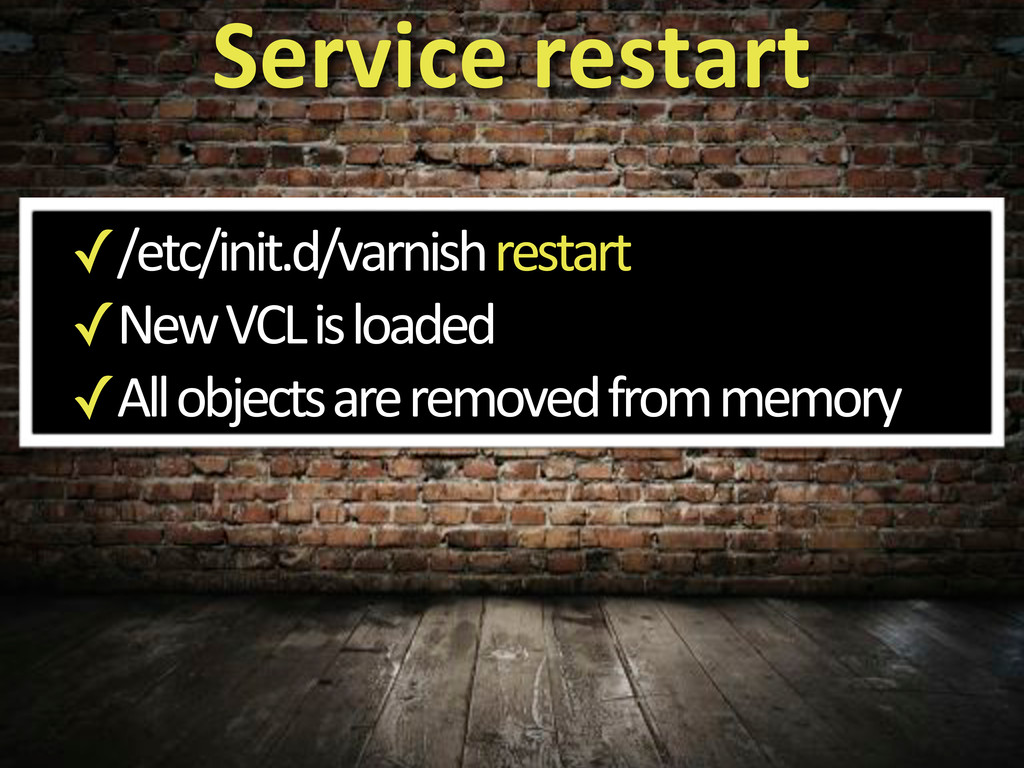 ✓/etc/init.d/varnish5restart ✓New5VCL5is5loaded...
