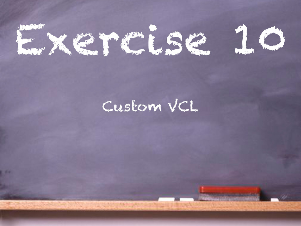Exercise 10 Custom VCL