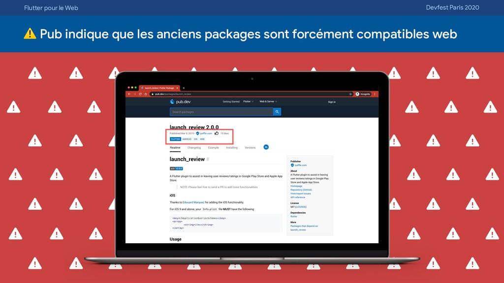 Flutter pour le Web Devfest Paris 2020 ⚠ Pub in...