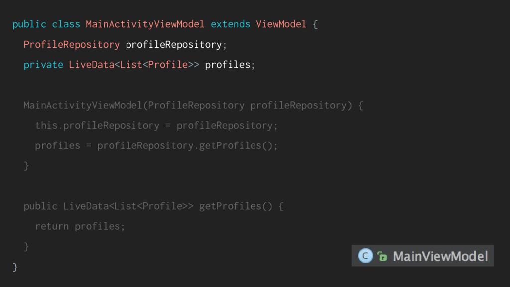 public class MainActivityViewModel extends View...