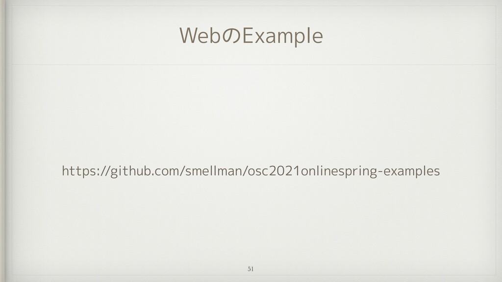 WebのExample https://github.com/smellman/osc2021...