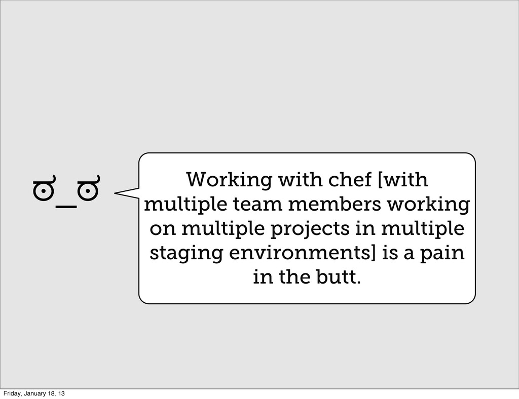 Working with chef [with multiple team members w...