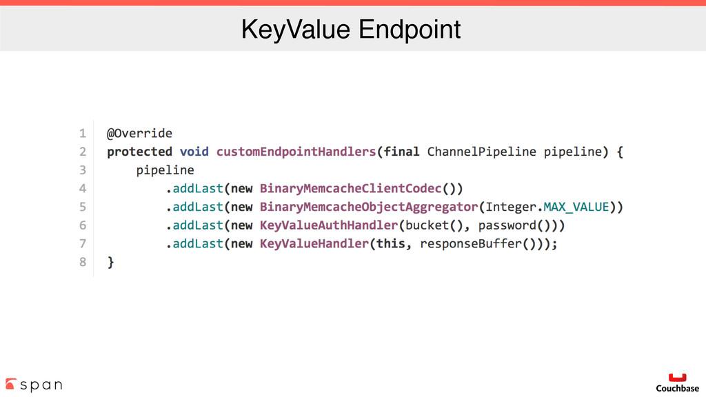 KeyValue Endpoint