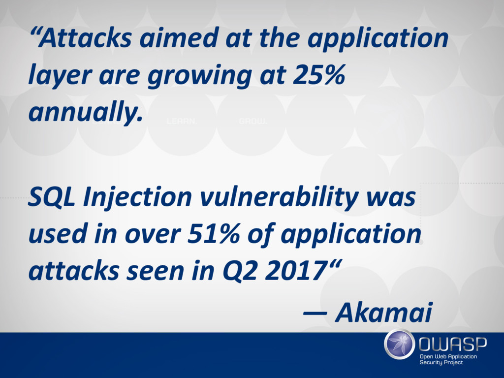 """""""Attacks aimed at the application layer are gro..."""