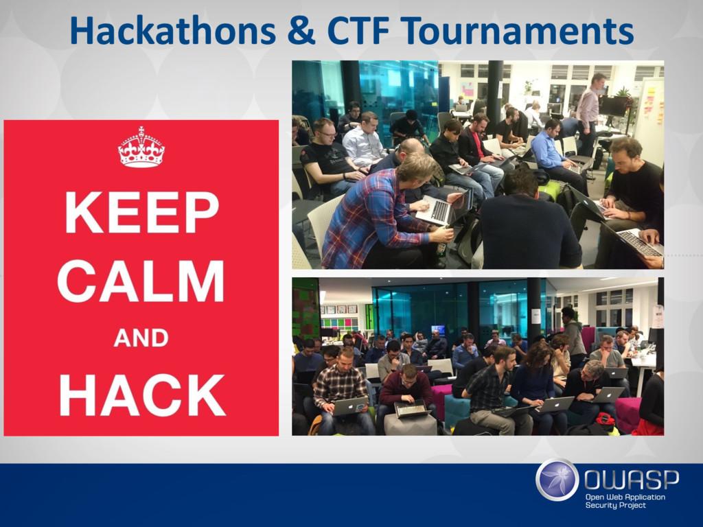 Hackathons & CTF Tournaments