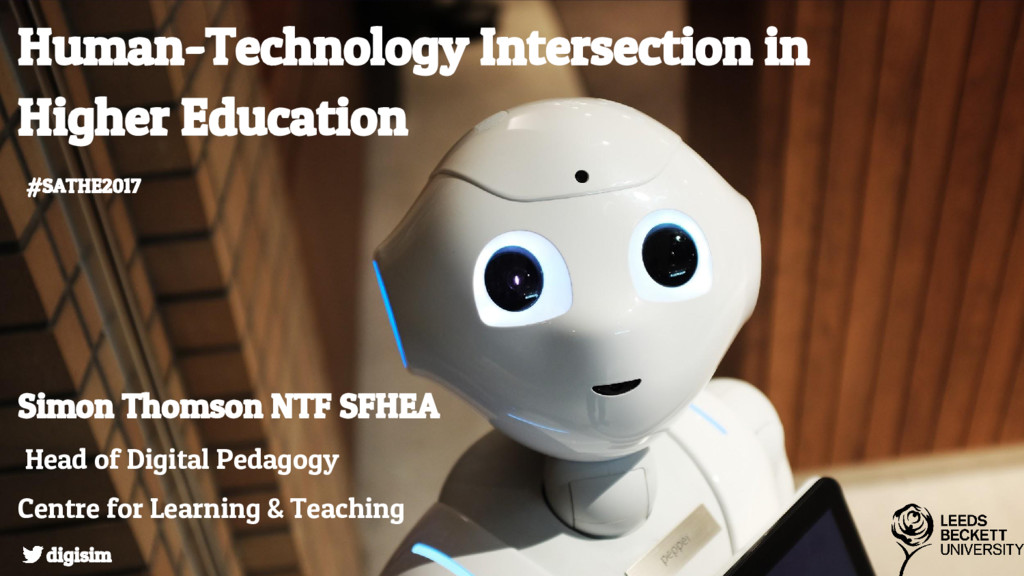 Human-Technology Intersection in Higher Educati...