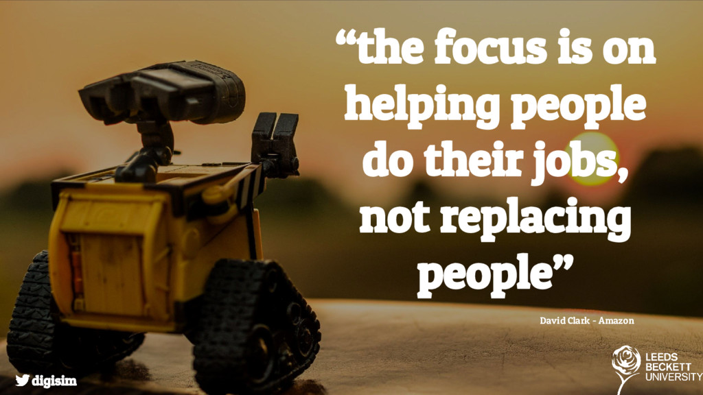 """""""the focus is on helping people do their jobs, ..."""