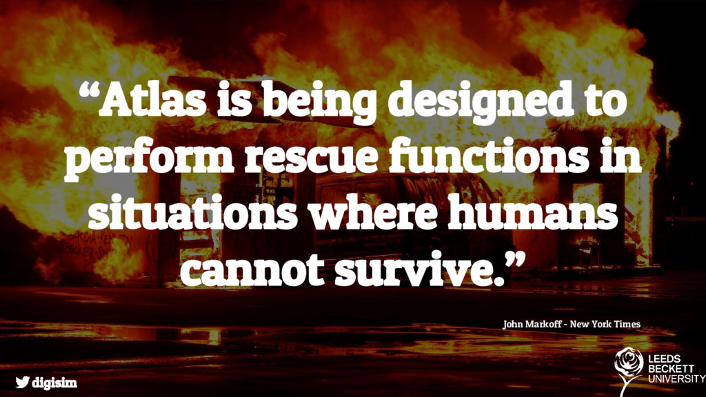 """""""Atlas is being designed to perform rescue func..."""