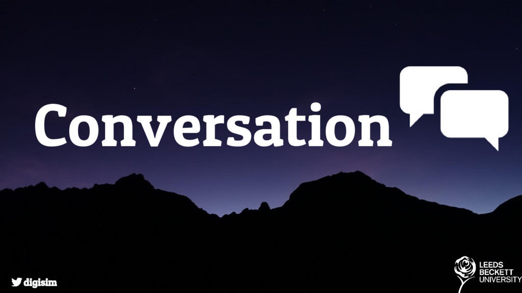 Conversation digisim