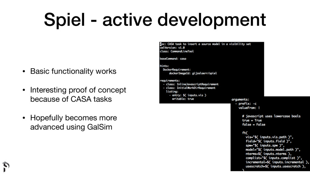 Spiel - active development • Basic functionalit...