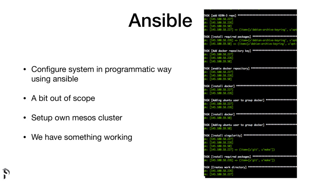 Ansible • Configure system in programmatic way u...
