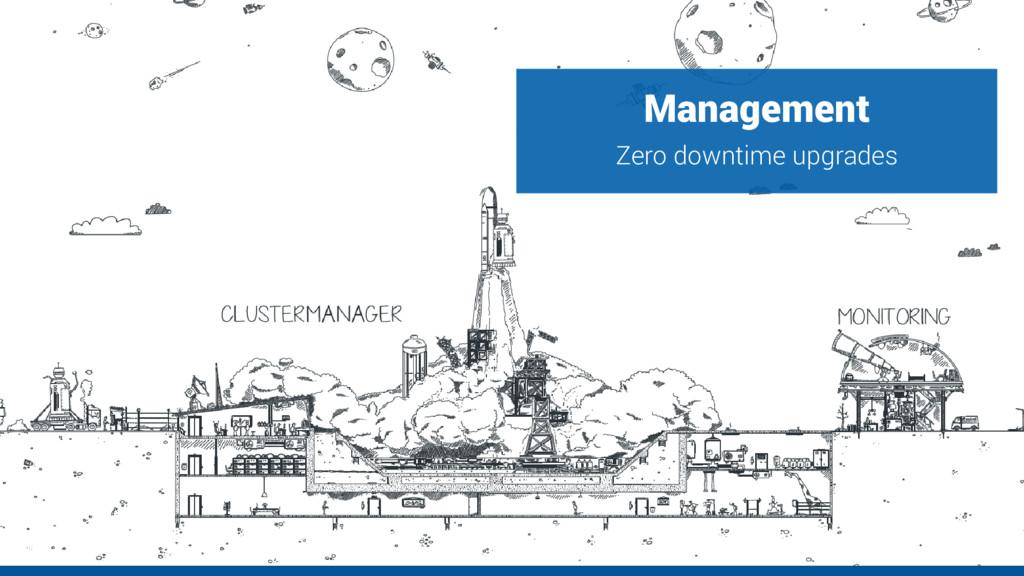 Management Zero downtime upgrades