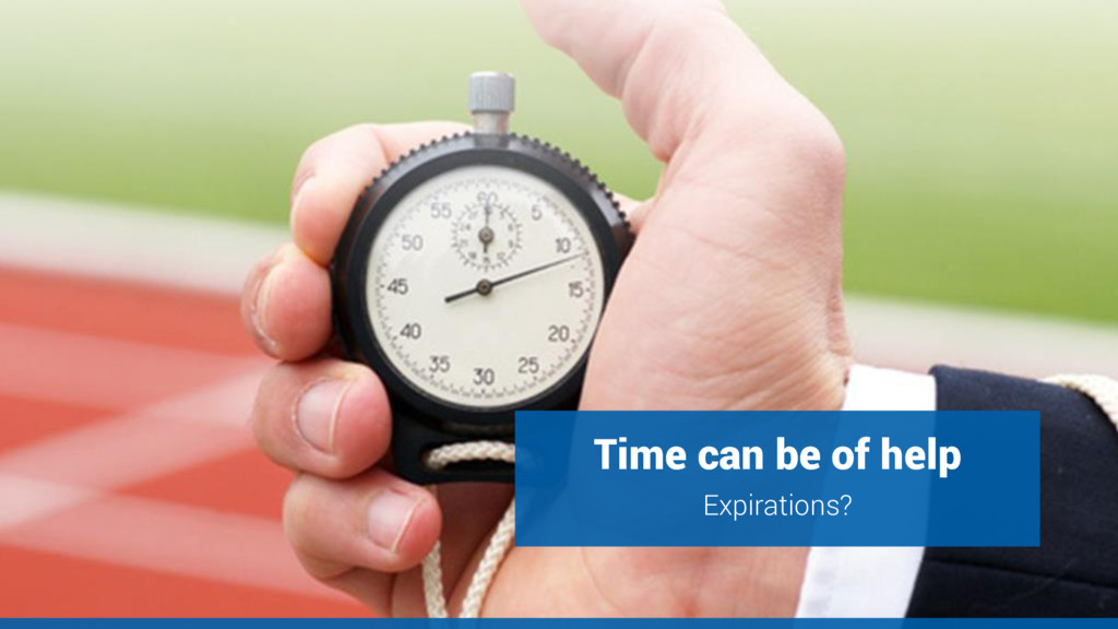 Time can be of help Expirations?