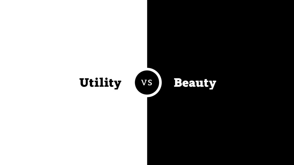 Utility Beauty VS
