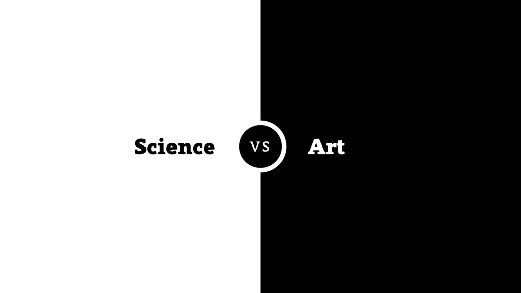 Science Art VS