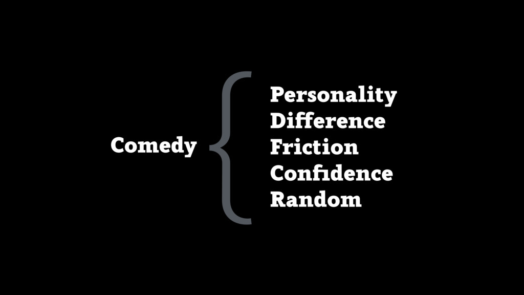 Personality Difference Friction Confidence Rando...