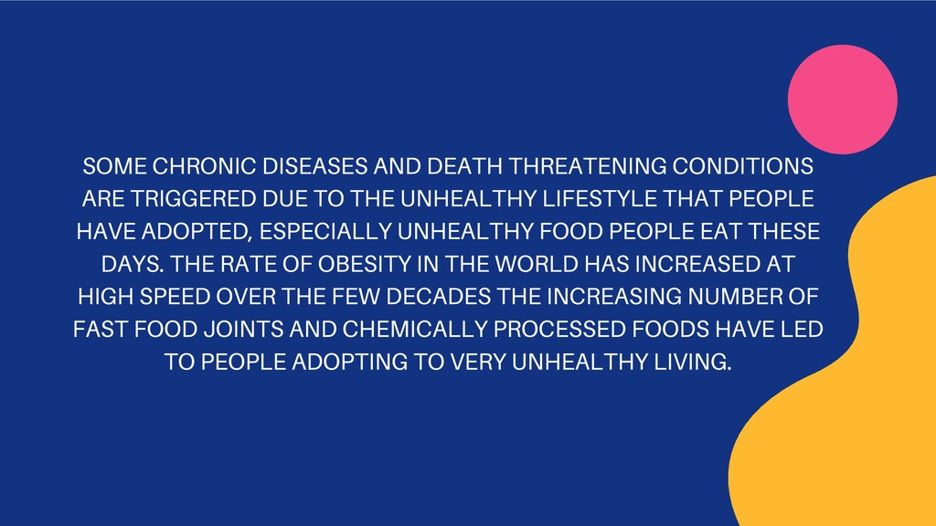 SOME CHRONIC DISEASES AND DEATH THREATENING CON...