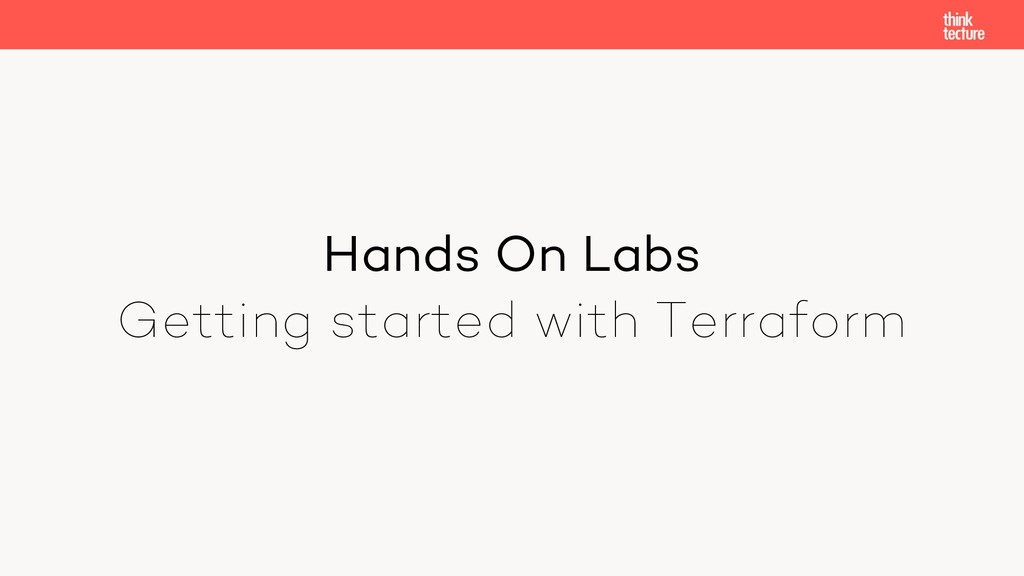 Hands On Labs Getting started with Terraform