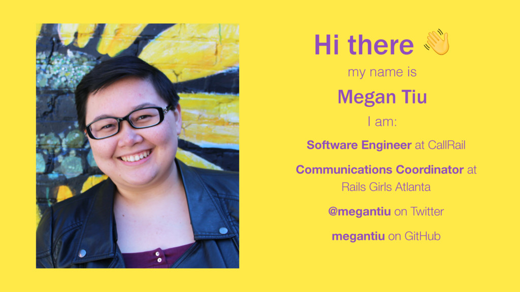 Hi there  Software Engineer at CallRail  Commun...