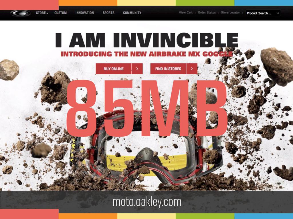 moto.oakley.com 85MB