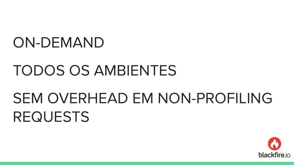 ON-DEMAND TODOS OS AMBIENTES SEM OVERHEAD EM NO...