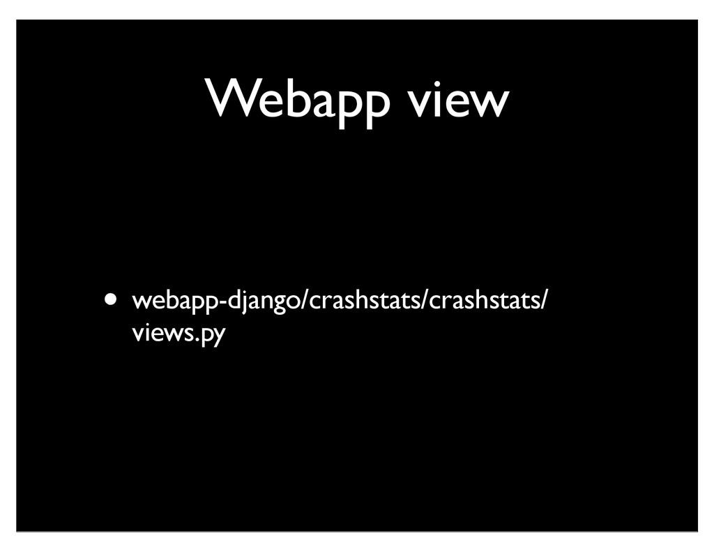 Webapp view • webapp-django/crashstats/crashsta...