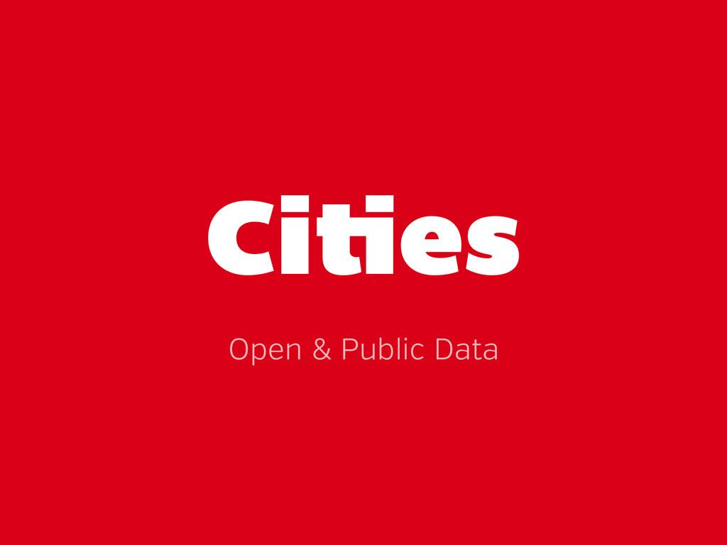 Ci es Open & Public Data