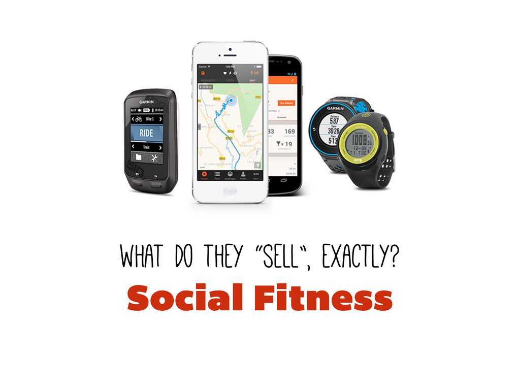 "what do they ""sell"", exactly? Social Fitness"