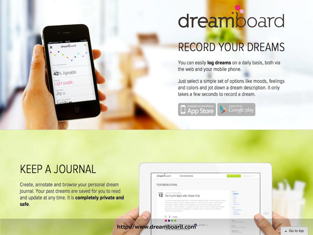 http://www.dreamboard.com