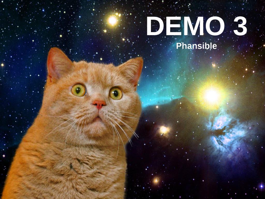 DEMO 3 Phansible