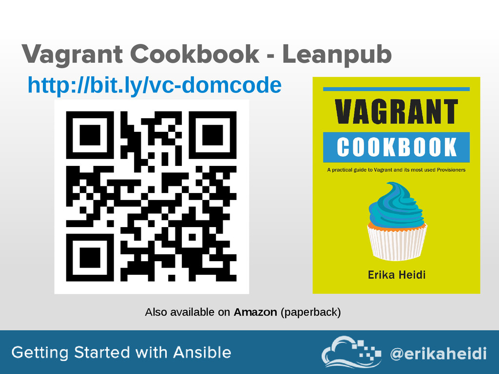 Vagrant Cookbook - Leanpub http://bit.ly/vc-dom...