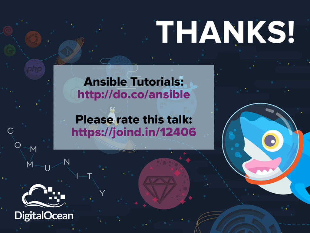 Ansible Tutorials: http://do.co/ansible Please ...