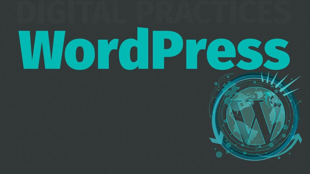 DIGITAL PRACTICES WordPress