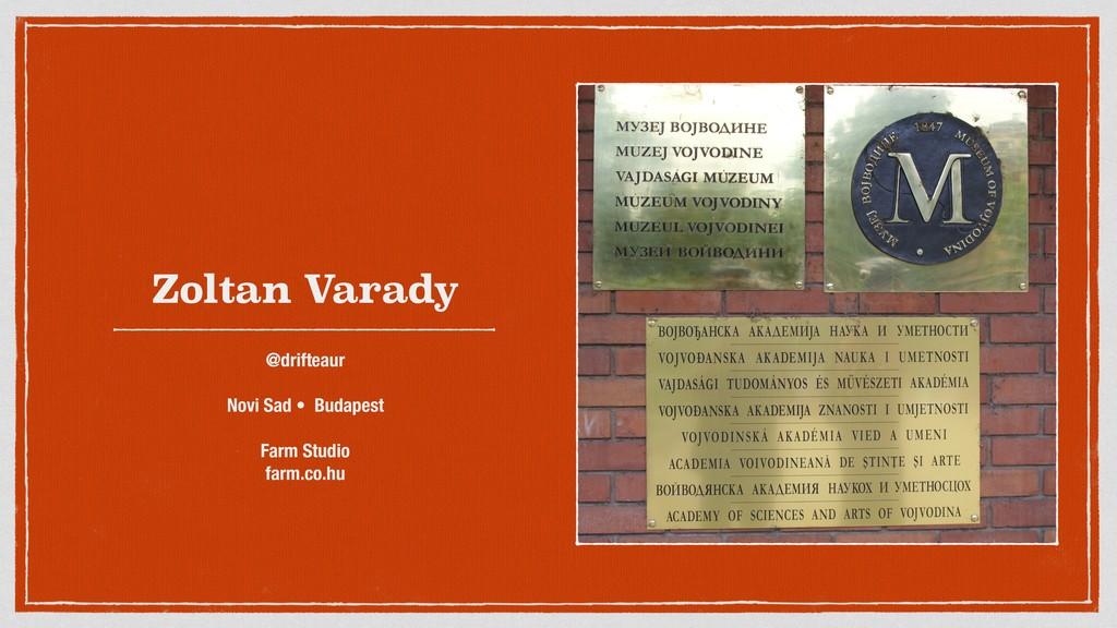 Zoltan Varady @drifteaur Novi Sad • Budapest Fa...