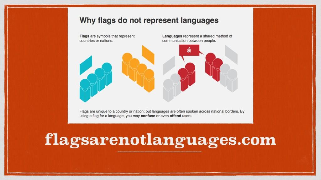 flagsarenotlanguages.com