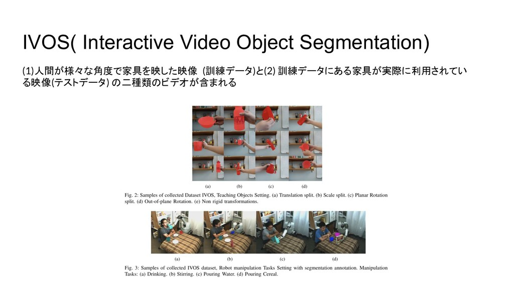 IVOS( Interactive Video Object Segmentation) (1...