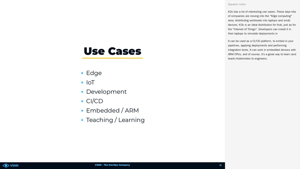 VSHN – The DevOps Company Edge IoT Development ...